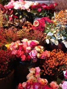 Blumen als Dankeschön