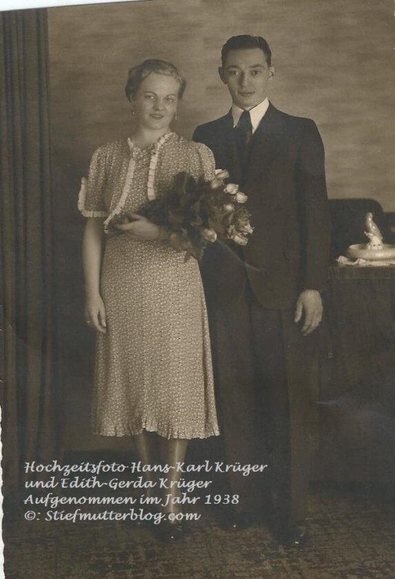 Hochzeitsfoto Hans-Karl Krüger ca 1938 001 (2)