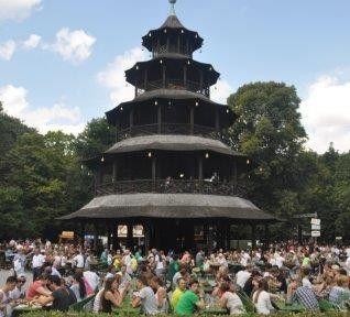 München im englischen Garten. Foto: Stiefmutterblog.com