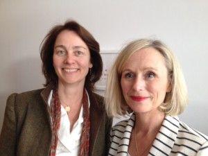Dr. Katarina Barley und Susanne Petermann