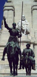 """Monumento a Cervantes (Madrid) 10"" von Lorenzo Coullaut Valera - Foto: Luis García"
