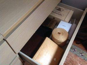 Die Zeitreisen-Schublade. Foto Stiefmutterblog.com
