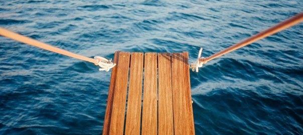 Sprungbrett aus der Ehe. Foto: Stocksnap, Zeller