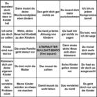Stiefmutter-Bullshit-Bingo