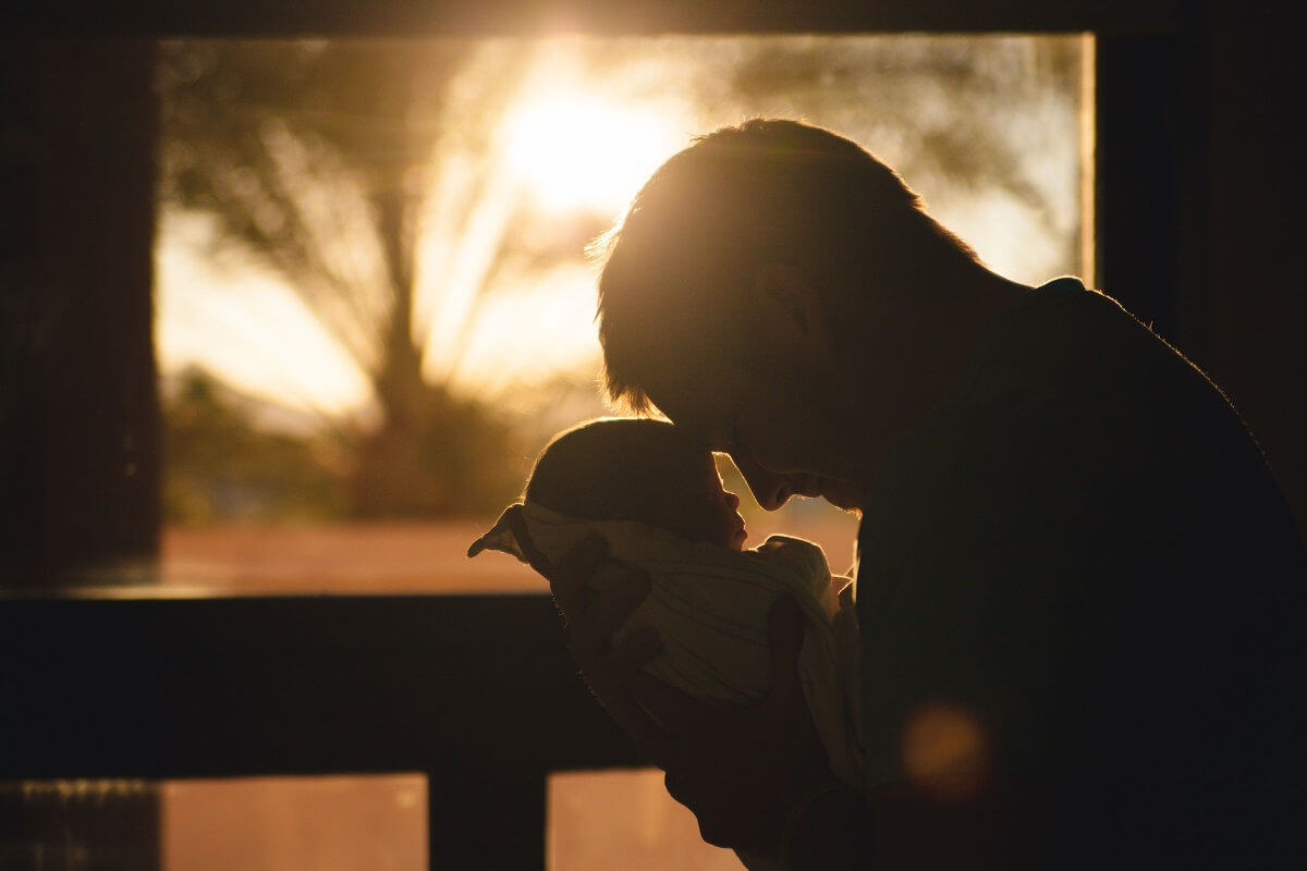 Vater Stiefvater entsorgter Vater