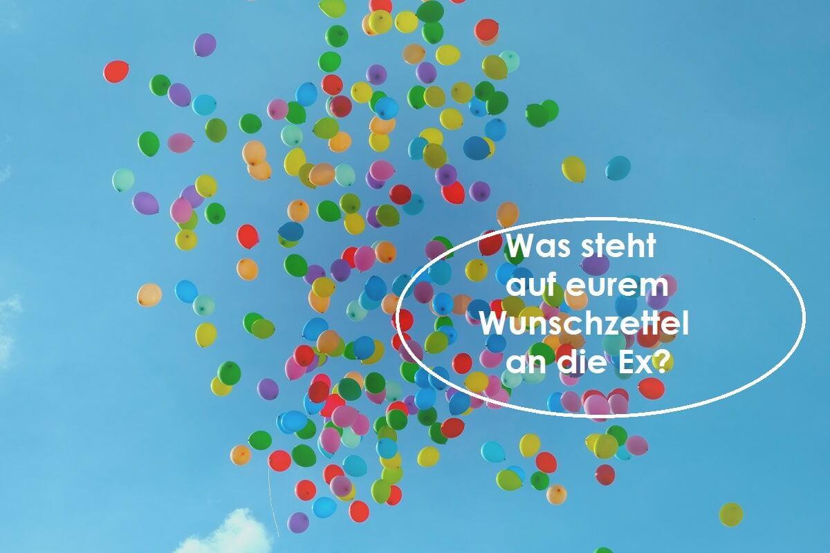 Wunschzettel an die Ex